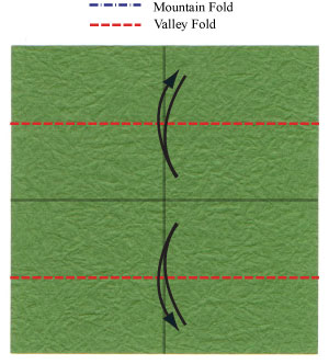 лист клевера из бумаги 3
