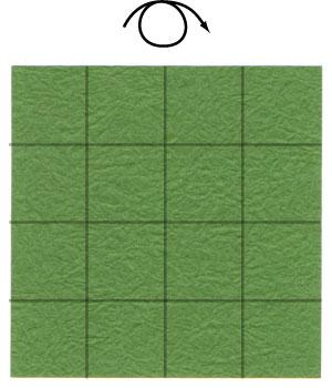 лист клевера из бумаги 5