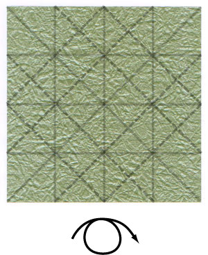 лист клевера оригами 12