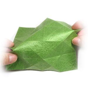 лист клевера оригами 15