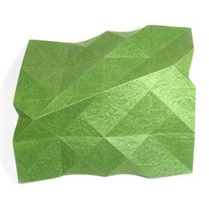 лист клевера оригами 18