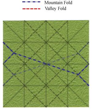 лист клевера оригами 19