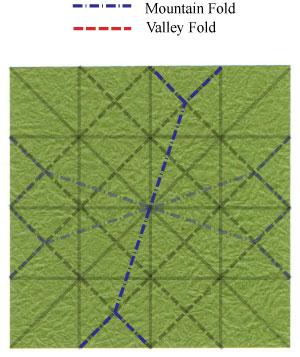 лист клевера оригами 20