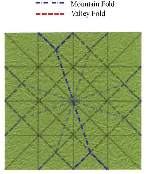 лист клевера оригами 21
