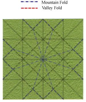 лист клевера оригами 22