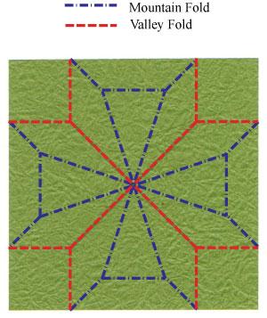 лист клевера оригами 25
