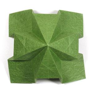 лист клевера оригами 26