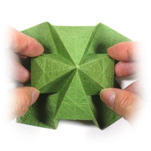 лист клевера оригами 27