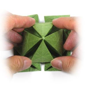 лист клевера оригами 28