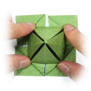лист клевера оригами 29