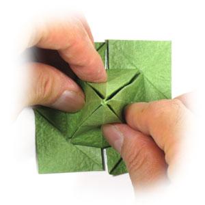 лист клевера оригами 30