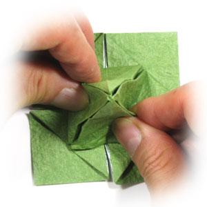 лист клевера оригами 31
