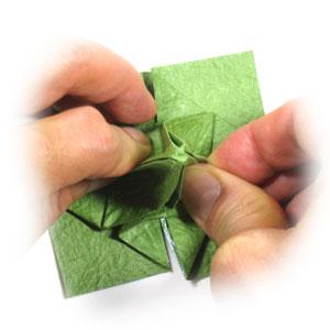 лист клевера оригами 32