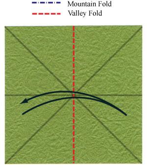 лист клевера оригами 6