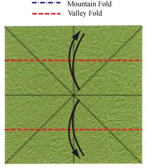 лист клевера оригами 7