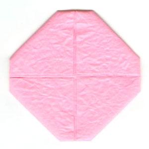 лотос оригами из бумаги 3