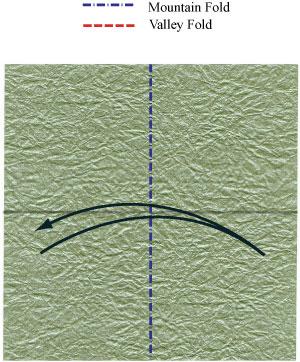 лягушка из бумаги 5