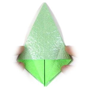 лягушка оригами 12
