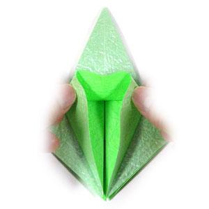 лягушка оригами 14