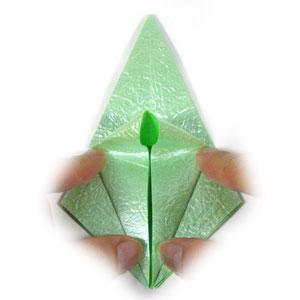 лягушка оригами 15