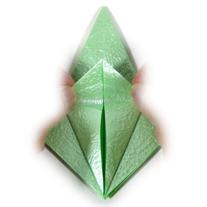 лягушка оригами 16
