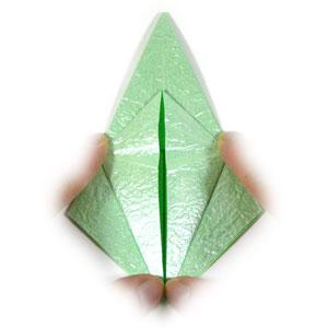 лягушка оригами 17
