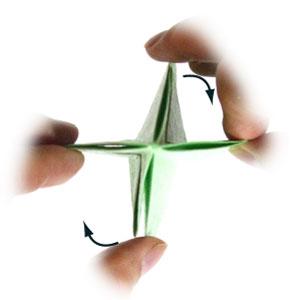 лягушка оригами 24