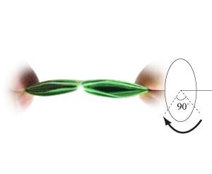 лягушка оригами 25