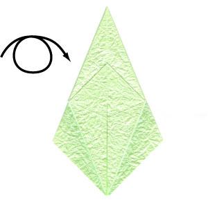 лягушка оригами 27