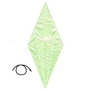 лягушка оригами 33