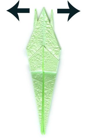 лягушка оригами 42