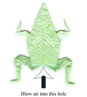 лягушка оригами 47