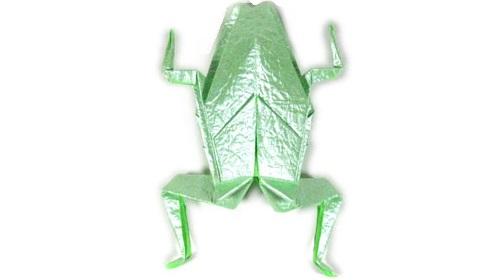лягушка оригами 48