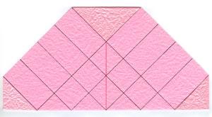 объёмная роза оригами 2