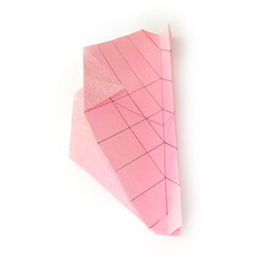 объёмная роза оригами 6