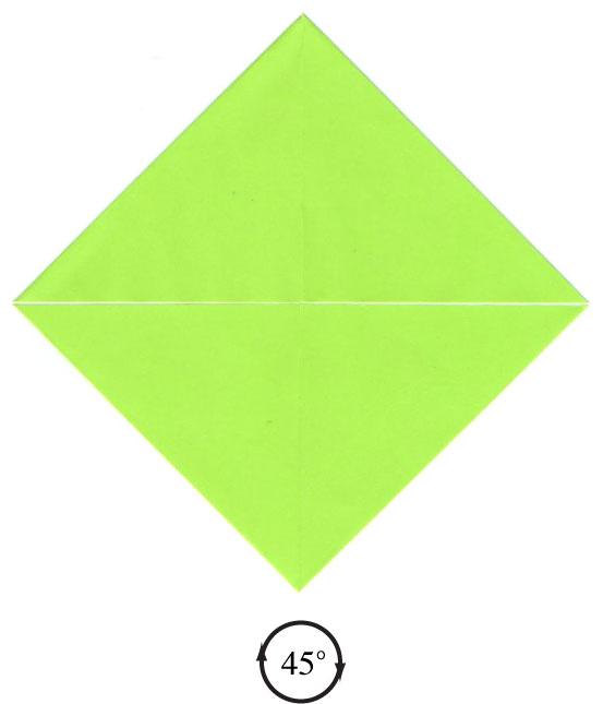 оригами для детей лягушка 6