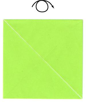 оригами для детей лягушка 7