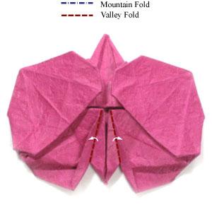 орхидея из бумаги 33