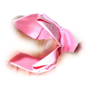 поделка из бумаги лотос 18