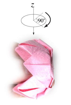 поделка из бумаги лотос 21