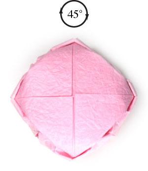 поделка из бумаги лотос 25
