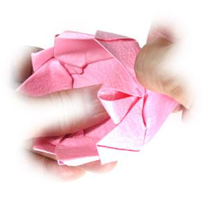 поделка из бумаги лотос 30