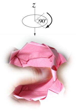 поделка из бумаги лотос 31