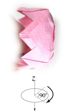 поделка из бумаги лотос 32