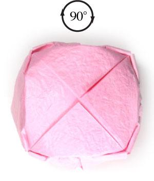 поделка из бумаги лотос 33
