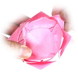 поделка из бумаги лотос 39