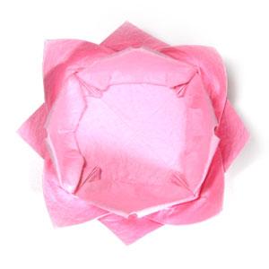 поделка из бумаги лотос 40