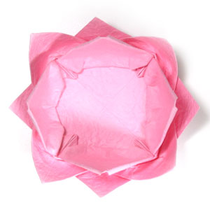 поделка из бумаги лотос 42