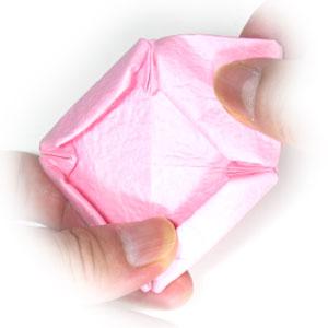 поделка из бумаги лотос 8