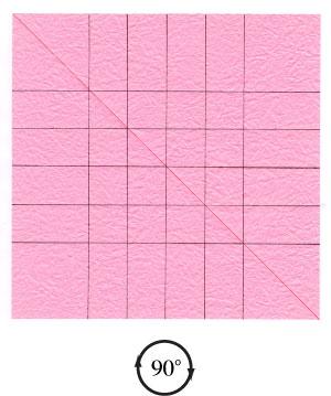 поделка из бумаги роза 14